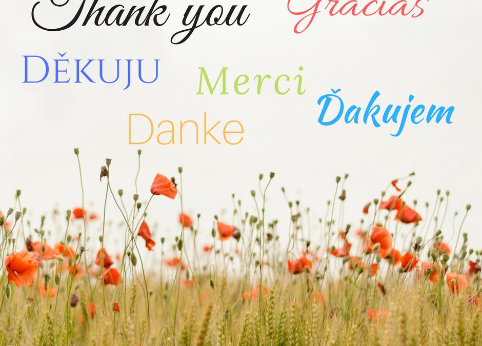 Poďakuj a získaš viac